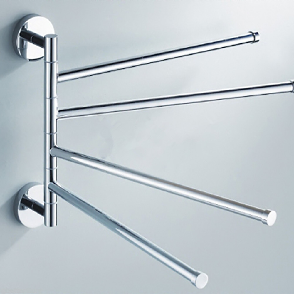 Four Bar Towel Hanging The Whole Solid Aluminum Towel Rack The ...
