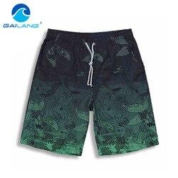 شورتات رجالي صيفية للشاطئ من Gailang شورتات قصيرة للرجال من البوليستر غير رسمية شورتات بوكسر للرجال برمودا ملابس سباحة بتجفيف سريع