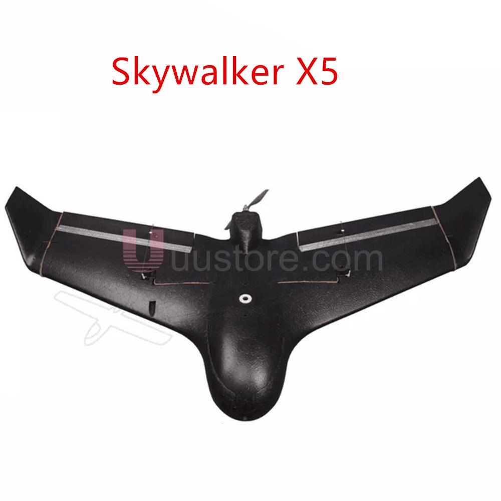 Neue Skywalker X5 EPO Fliegen Flügel Schwarz Segelflugzeug FPV Flugzeug RC Kit PNP ARF Combo Fernbedienung Elektrisch Betriebene Für Saleb