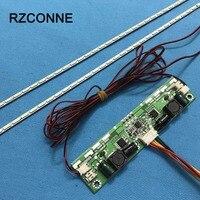 615mm LED Backlight Lamps Strip Update Kit Aluminum Plate W 26 65 Inverter For 55 Inch