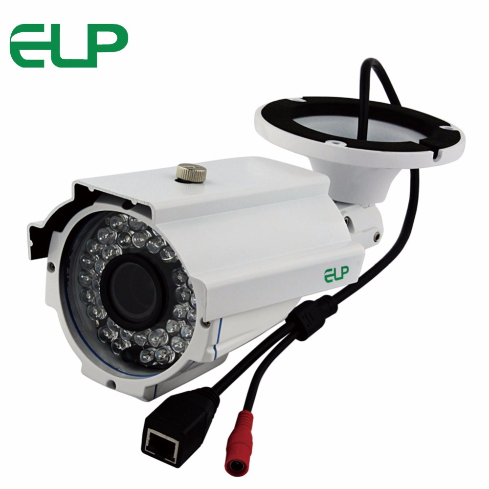 720P Waterproof outdoor Network IR Day Night vision Varifocal Motion detection Bullet manual zoom focus video security ip camera 4 0mp poe ip bullet camera outdoor waterproof security camera day night vision motion detection intelligent alarm