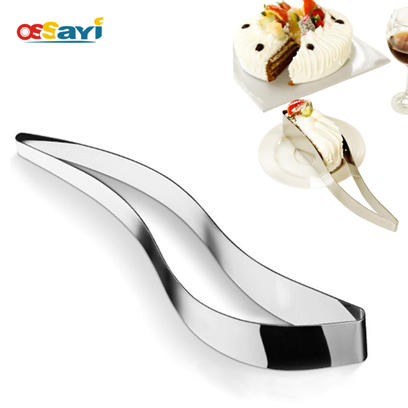 Cake Slicer Server Rostfritt Stål Cake Cutters Cookie Fondant Dessertverktyg Pie Knife Cutter Mögel Diy Bröd Cake Knife Metal