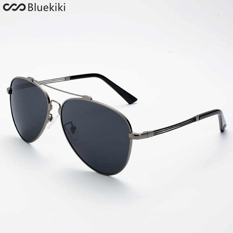 e3bba4c7eb35 2017 KIKI Men Aviator Sunglasses Polarized Brand Designer Retro Driving  Blue Sun Glasses oculos de sol Masculino  5015-in Sunglasses from Apparel  ...
