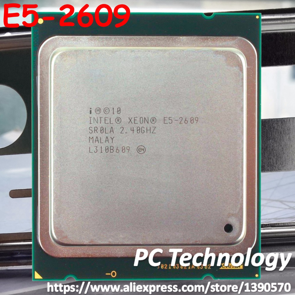 Original Intel Xeon Processor E5-2609 2.4GHz 10M 6.4GT/s 4 Core