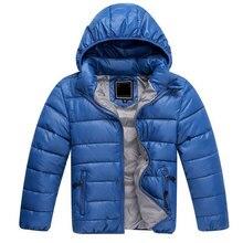 Hot  Sale Winter Kids Down Jacket For Boys Brand Snowsuit Children Down Jacket For Girl Children's Parka Hooded Boys Outerwear