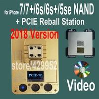 2018 версия PCIE NAND Flash чип программист инструмент наборы машина Fix Ремонт HDD IC серийный номер для iPhone 5SE 6 S 7 Plus iPad Pro