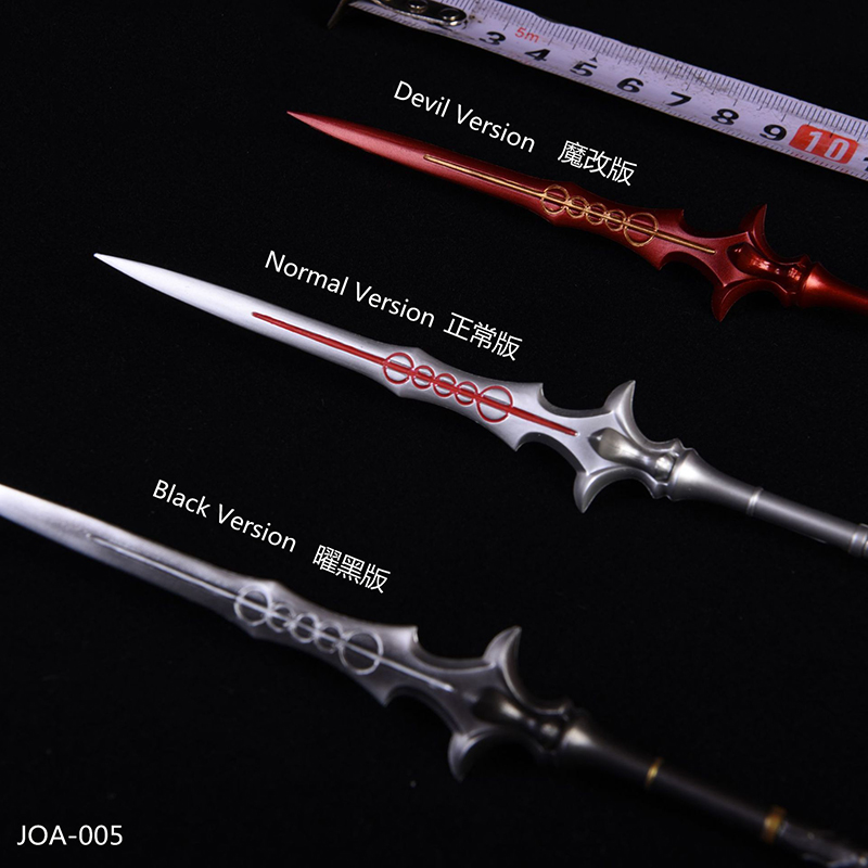 <font><b>1/6</b></font> <font><b>Scale</b></font> Devil Spears model toy <font><b>Weapon</b></font> Model Toy Toys Gifts for 12''Action Figures Bodies Accessories image