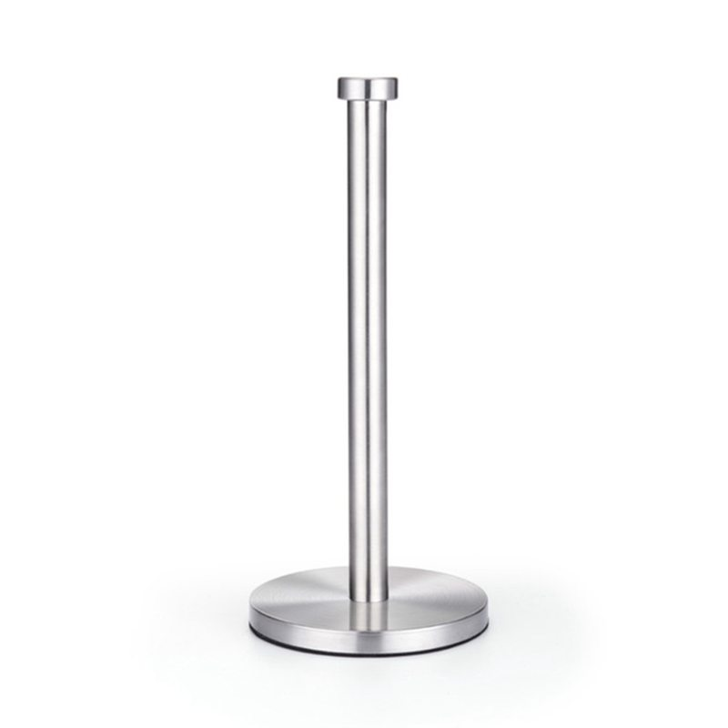 Stainless Steel Roll Paper Towel Rack Kitchen Tissue Holder Bathroom Toilet Paper Stand Napkin Rack House Tool