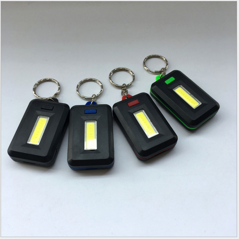Image 2 - NEW Mini LED Flashlight Keychain Portable Keyring Light Torch Key Chain 45LM 3 Modes Emergency Camping Lamp backpack light-in LED Flashlights from Lights & Lighting