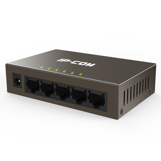 US $19 89 |5 Port Fast Ethernet Unmanaged Switch, Sturdy Metal, Desktop,  Plug and Play-in Network Switches from Computer & Office on Aliexpress com  |