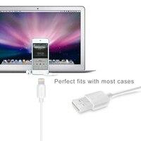 Delippo PowerLine stopy/1 M MFi Certyfikowane do Kabel USB Kabel Ładowania dla iPhone 5/5S/5c 6/6 s Plus, iPad mini/Air/Pro iPod touch