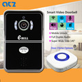 ATZ-DBV04P 433MHz 64G High Quality  WIFI Doorbell IP Camera Door Chime with Magnetic Lock and Rainproof Outdoor Video Intercom