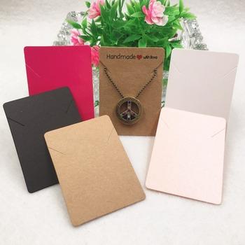 50 sztuk partia Craft puste bransoletka naszyjnik karta panie akcesoria do biżuterii wyświetlacz produktu pakiet karty zaakceptować dostosowanie tanie i dobre opinie Thsshareopts Przypadki i wyświetlacze Earring Packaging Cards 7x5cm Papier Opakowanie i wyświetlacz biżuterii Jewelry Packaging Cards