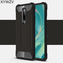 For Oneplus 7 Case Shockproof Bumper Phone Armor Rubber Hard PC Back Cover Fundas