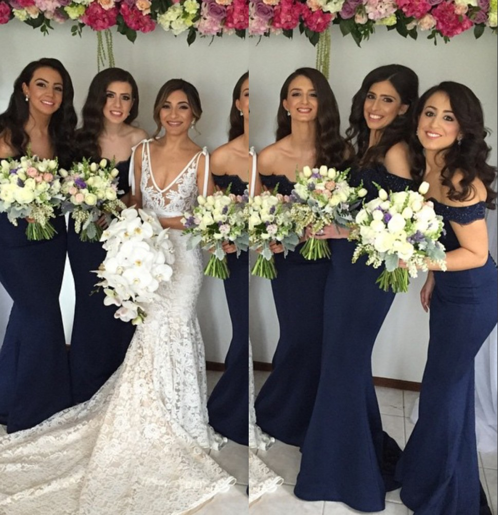 Covered button lace bridesmaid gown dark navy bluepeachivory covered button lace bridesmaid gown dark navy bluepeachivorychampagnesilveryellow satin bridesmaid dresses fast shipping in bridesmaid dresses from ombrellifo Images