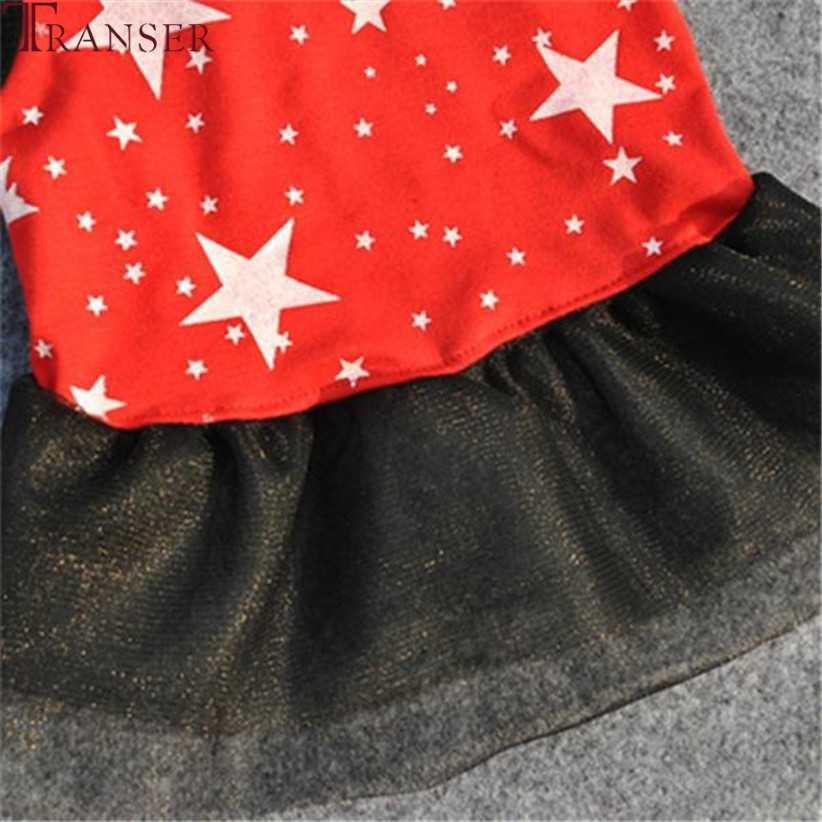 Transer Chó Dễ Thương Ngôi Sao In Ren Hai Lớp Tutu Áo Thú Cưng Quần Áo Màu Đỏ Dành Cho Chó Nhỏ 80130
