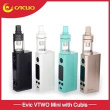 Original Atomizador Joyetech Evic VTwo Mini Kit Con Cubis 75 w Control de Temperatura Firmware Actualizable mod cigarrillo electrónico