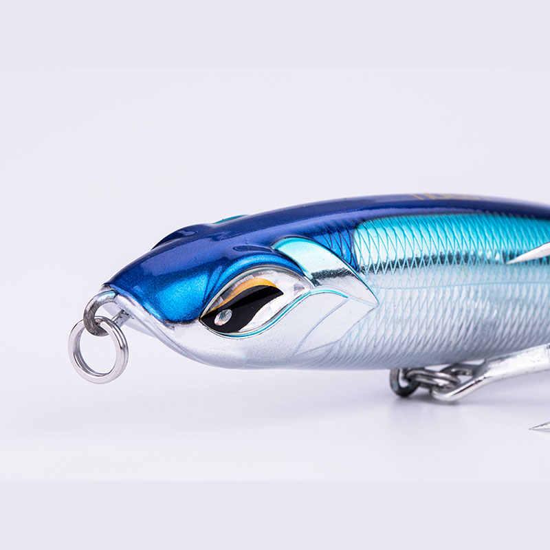 2019 nuevo producto NOEBY NBL9493 115mm/150mm/185mm lápiz señuelo VMC gancho Wobbler duro señuelo carpa bajo Isca Artificial Para Pesca