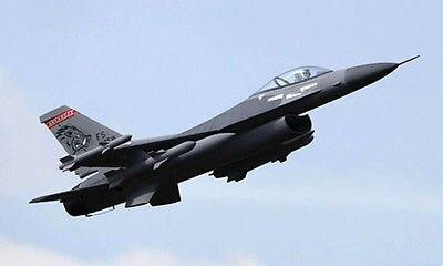 SCALE Skyflight 70MM EDF 1.3M F16 Fighting Falcon RC KIT Jet Plane Model W/O Motor Servos ESC Battery