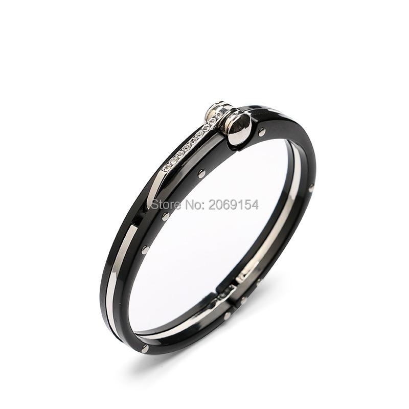 Металевий браслет для чоловіків - Модні прикраси - фото 2