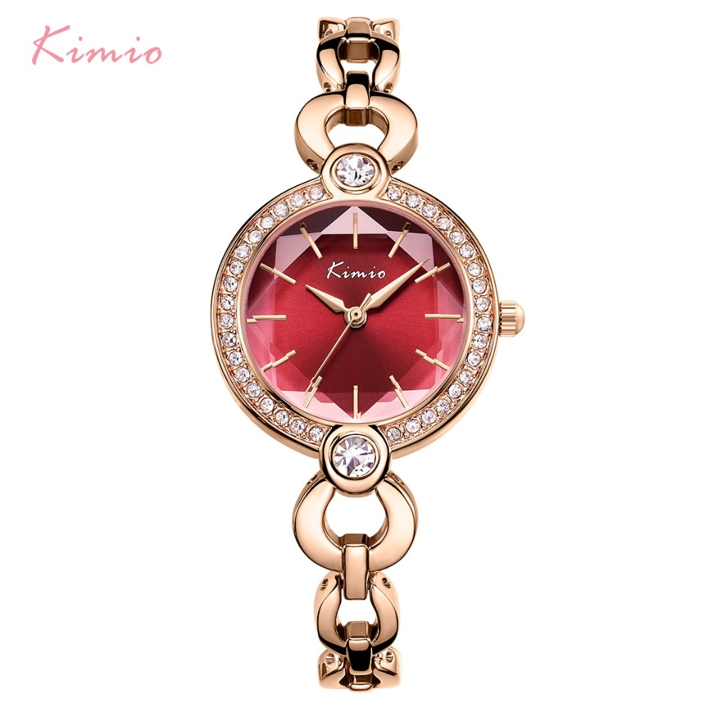 KIMIO Brand Ladies Bracelet Watches For Women Fashion Small Dial Watch 2019 Top Brand Luxury Female Wristwatch Relogio Feminino in Women 39 s Watches from Watches