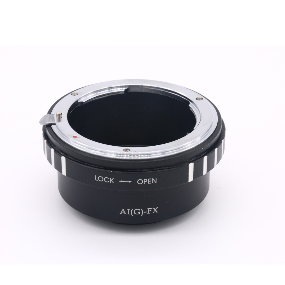 AI (G)-FX Adaptateur Anneau Pour Nikon AI (G) Monture À Fujifilm X Mont Fuji X-Pro1 X-E1 X-M1 X-E2 M42 X-T1 Lentille Anneau