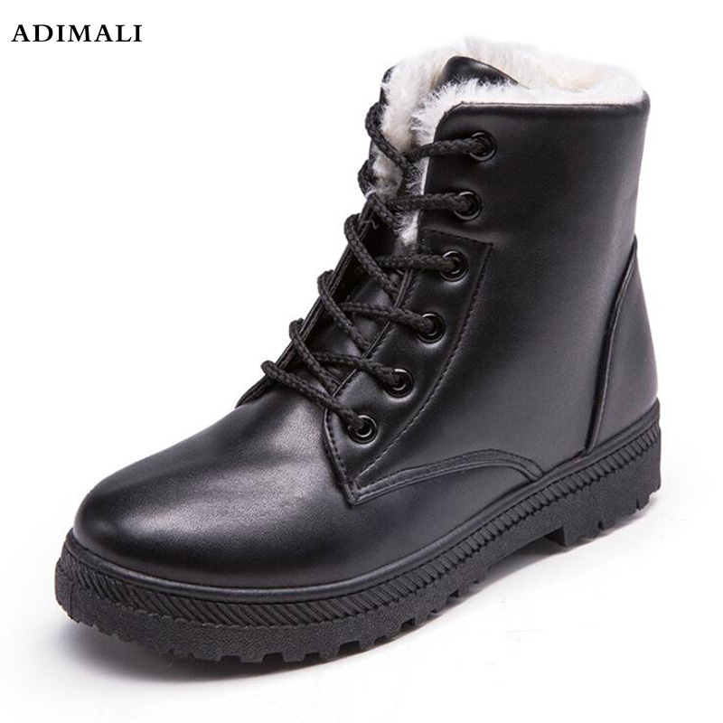 NEW Warm Winter Boots Female Fashion Women Shoes Faux Suede Ankle Boots For Women Botas Mujer Plush Insole Snow Boots women boots warm winter boots female fashion women shoes faux suede ankle boots for women botas mujer plush insole snow boots