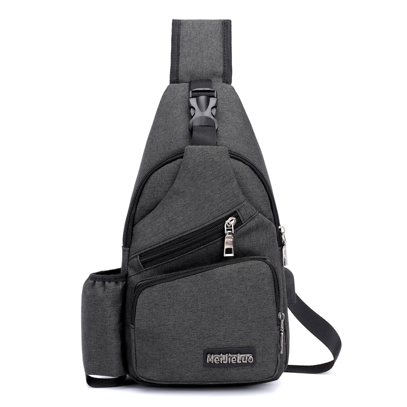 Waist Packs Men's Bags Shop For Cheap Pacgoth 2018 New Vintage Polyester Chest Bags Usb Mens Large Capacity Multi-functions Sling Bags Shoulder & Crossbody Packs 1pc Diversified Latest Designs