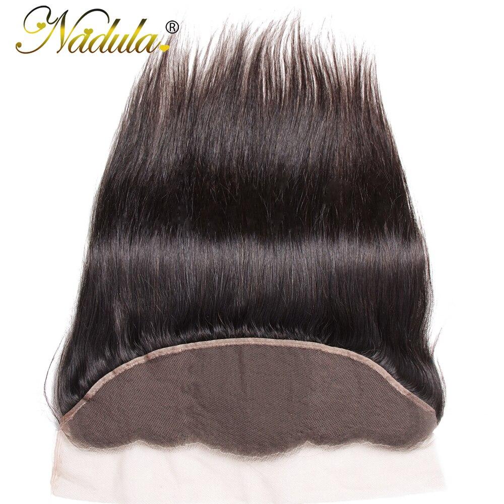 Nadula Hair 13x4  Straight Hair Lace Frontals 10-20inch Free Part Closure 130% Density  Hair  2