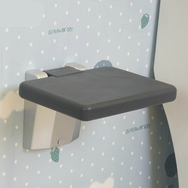 Simple Safe Household Bathroom Foldable Stool The Nursing Home Old People Shower Stool Wall of the Seat Aluminium Alloy BaseSimple Safe Household Bathroom Foldable Stool The Nursing Home Old People Shower Stool Wall of the Seat Aluminium Alloy Base