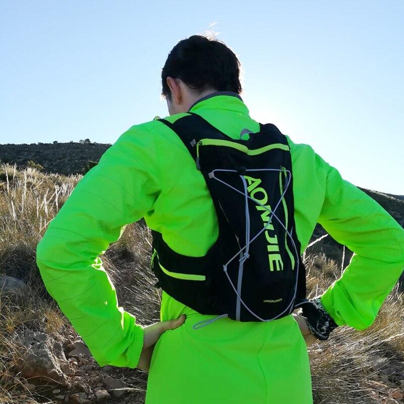 AONIJIE 10L course hydratation gilet sac à dos hommes femmes vélo plein air Sport sacs Trail Marathon Jogging cyclisme randonnée sac à dos - 3