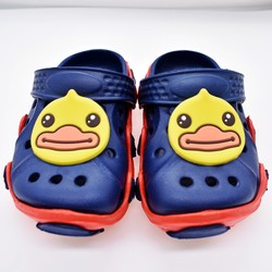Kids Boys And Girls Cute Sandals Mules Shoes Cartoon Duck/Sheep/Cat/Totoro EVA Clogs Shoes Soft Durable