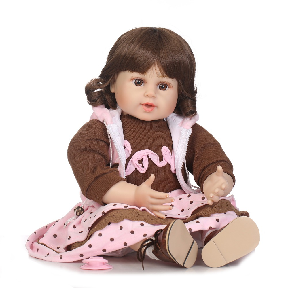 NPKCOLLECTION free shipping reborn bebe dolls soft real vinyl silicone touch baby reborn gift toys for children Birthday high quality candy grabber kids birthday party favors gift desktop mini dolls grabber machine claw toys free shipping