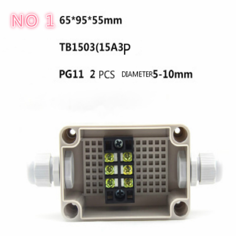 abs waterproof box electric junction box electronic box enclosure 15size for choose free shipping in Wire Junction Boxes from Home Improvement