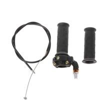 2021 Новинка твист рукоятка акселератора + кабель для 47cc 49cc мини-внедорожника Quad Pocket