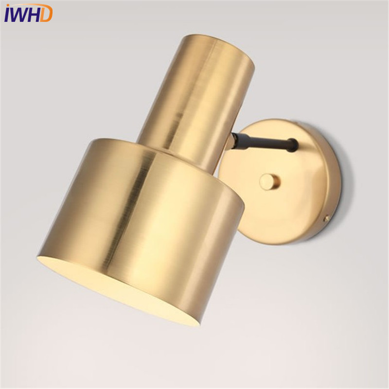 Simple Modern LED Wall Light Fixtures Creative Adjustable Iron Wall Sconce Bedroom Bedside wall Lamp Home Indoor Lighting цены