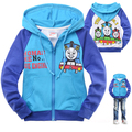 Baby Boys Girls Jacket Spring Clothes Kids Outerwear Coat Thick Clothes Children Clothing With Hood Thomas and Friends MS0741