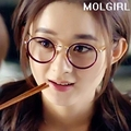 2016 Classic vintage brief metal Round  frame plain glass spectacles frame myopia detachable lensFreeshipping