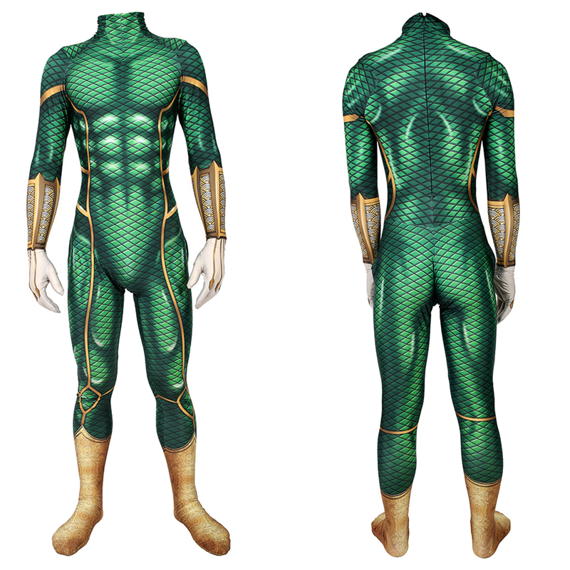 Deluxe Mysterio Cosplay Costume Adult Men Kid Spiderman Far From Home Superhero Costume For Men Halloween Costume For Adult Suit