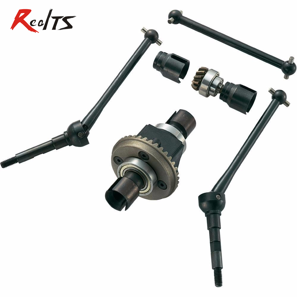 RealTS FS1870 1/5 scale 2WD to 4WD Conversion Kit SET New version for FS, REELY 1/5 series free shipping 112118 2 pieces set drive axles rear rear wheel shaft for fs racing mcd fg cen reely 1 5 scale rc car