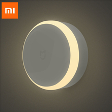 Xiaomi Mijia LED korytarz lampka nocna 2 pilot na podczerwień czujnik ruchu ciała inteligentny dom dla Mihome lampka nocna magnetyczna