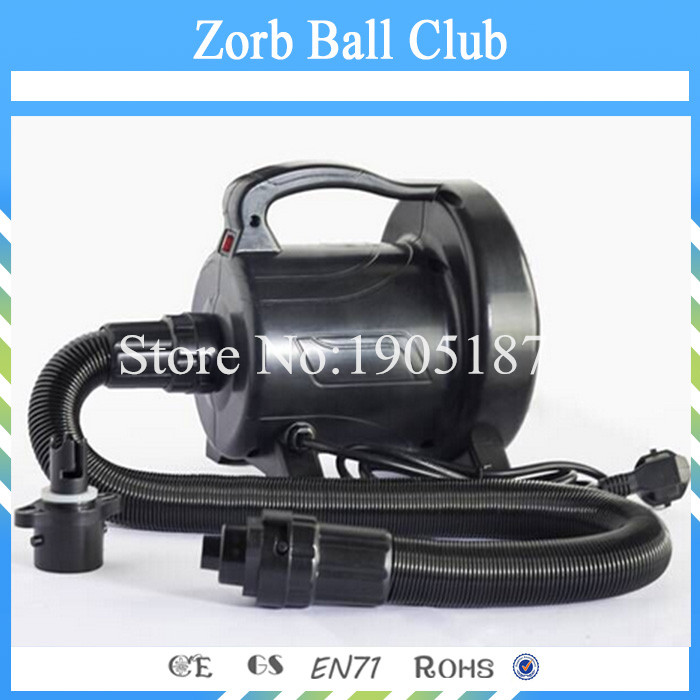 Free Shipping Inflatable Air Blower Pump 1200W For Zorb Ball