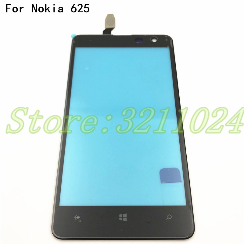 Original High Quality 4.7'' For <font><b>Nokia</b></font> <font><b>Lumia</b></font> <font><b>625</b></font> N625 <font><b>Touch</b></font> <font><b>Screen</b></font> Digitizer <font><b>Sensor</b></font> Front Glass Lens panel +Tools image