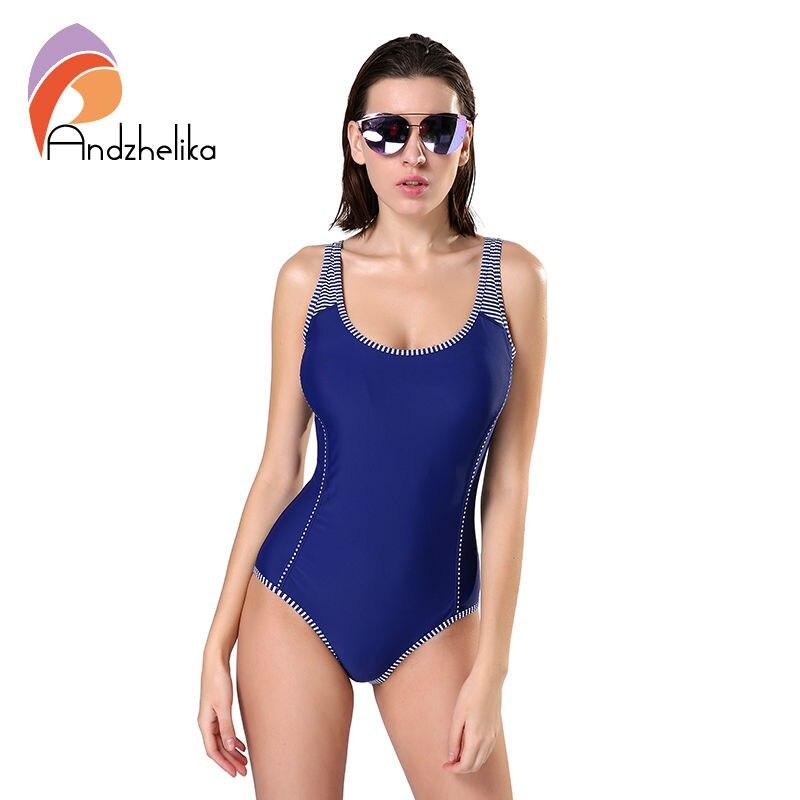 Andzhelika una sola pieza traje de baño más del tamaño del traje de baño de las