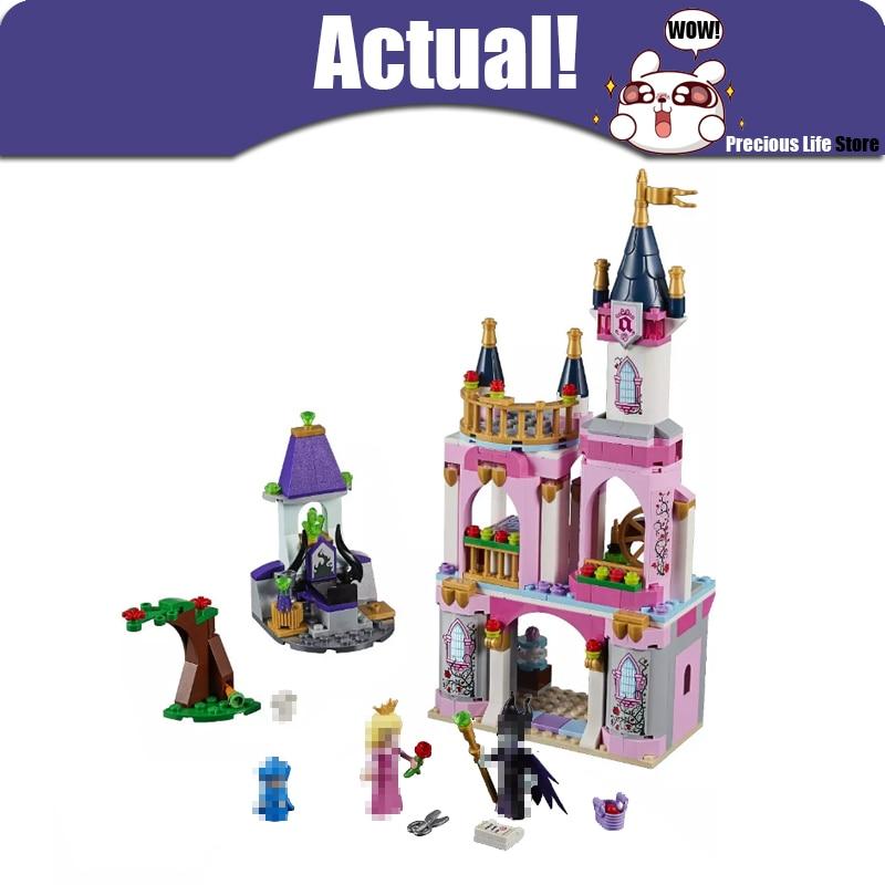 Lepin 25012 Sleeping Beauty Fairytale Castle Friends House Princess Building Blocks Bricks Toys DIY For Girls legoINGly 41152 конструктор lepin fairytale сказочный замок спящей красавицы 360 дет 25012