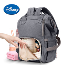 Disney USB Heating Diaper Bag Mummy Maternity Nappy Bag Brand Large Capacity Travel Backpack Designer Nursing Care Bag disney maternity diaper bag usb heating nappy backpack large capacity toddler nursing travel backpack heat preservation