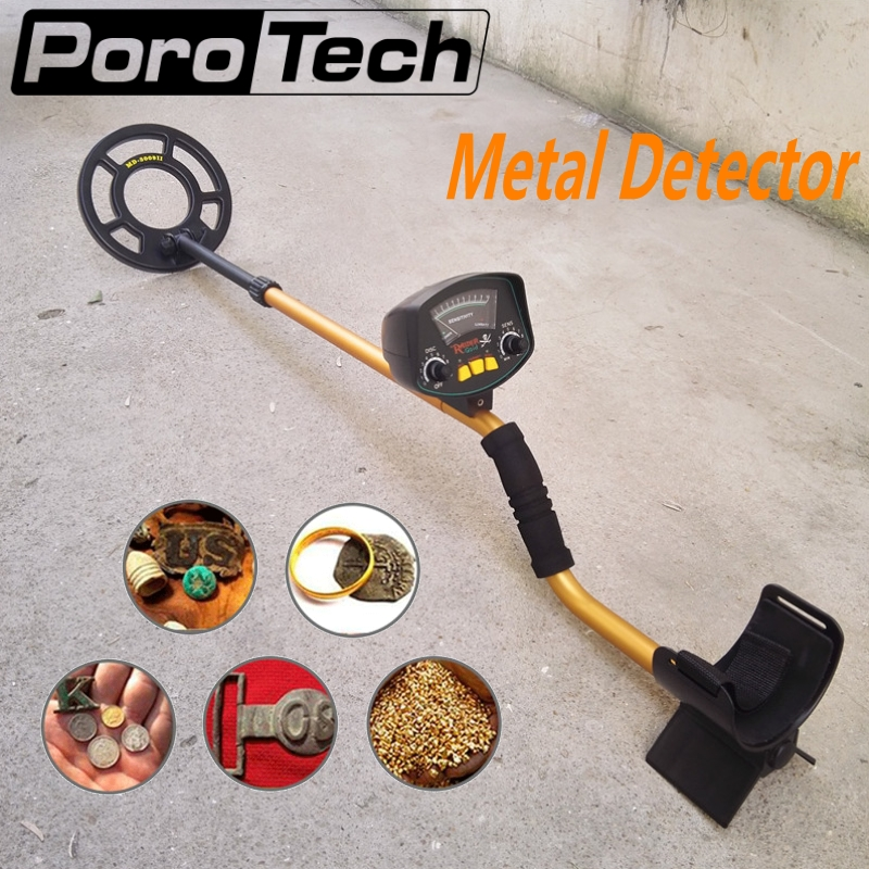 Professional Underground Metal Detector MD3009II Sensitive Ground Metal Detector Nugget Detector Gold Digger Treasure Hunter