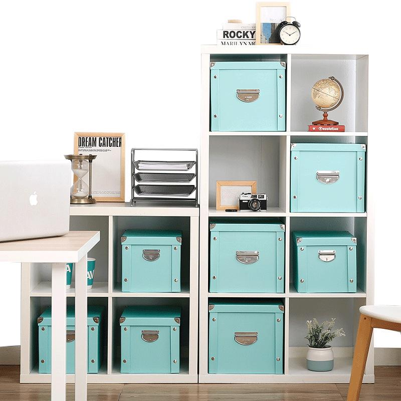 Storage-Box Paper Desktop-Organizer Strong Case Foldable Waterproof Sundries Office Extra