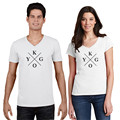 2016 Brand New Summer KYGO T-Shirts Men Women Fashion V-Neck Short Sleeve Tops Tees TShirts Plus Size T-shirt Free Shipping