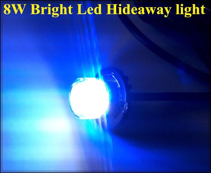 Vyšší hvězda DC12 / 24V 8W Led / Externí kamion / výstraha Skryté výstražné světlo, blesk, nouzová světla, bleskové světlo, vodotěsné, 2ks / 1lot